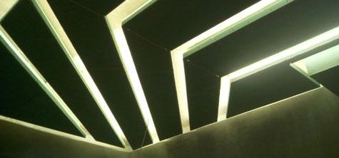 Сложный потолок из гипсокартона